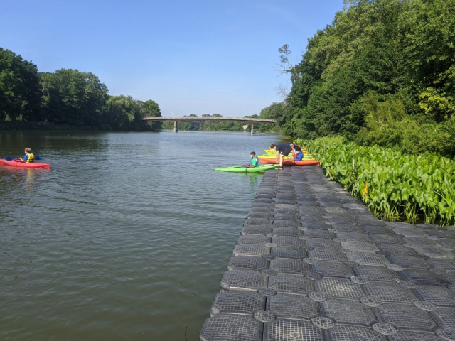 The urban Ecologists spent a day this summer kayaking on the Genesee River and Erie Canal. The Waterways Center at Genesee Valley Park, which rents kayaks and canoes, is an awesome resource.
